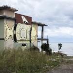 Street art sul lungomare di Carini