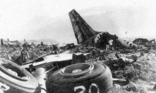 Carrello atterraggio DC-8 43 I-DIWB