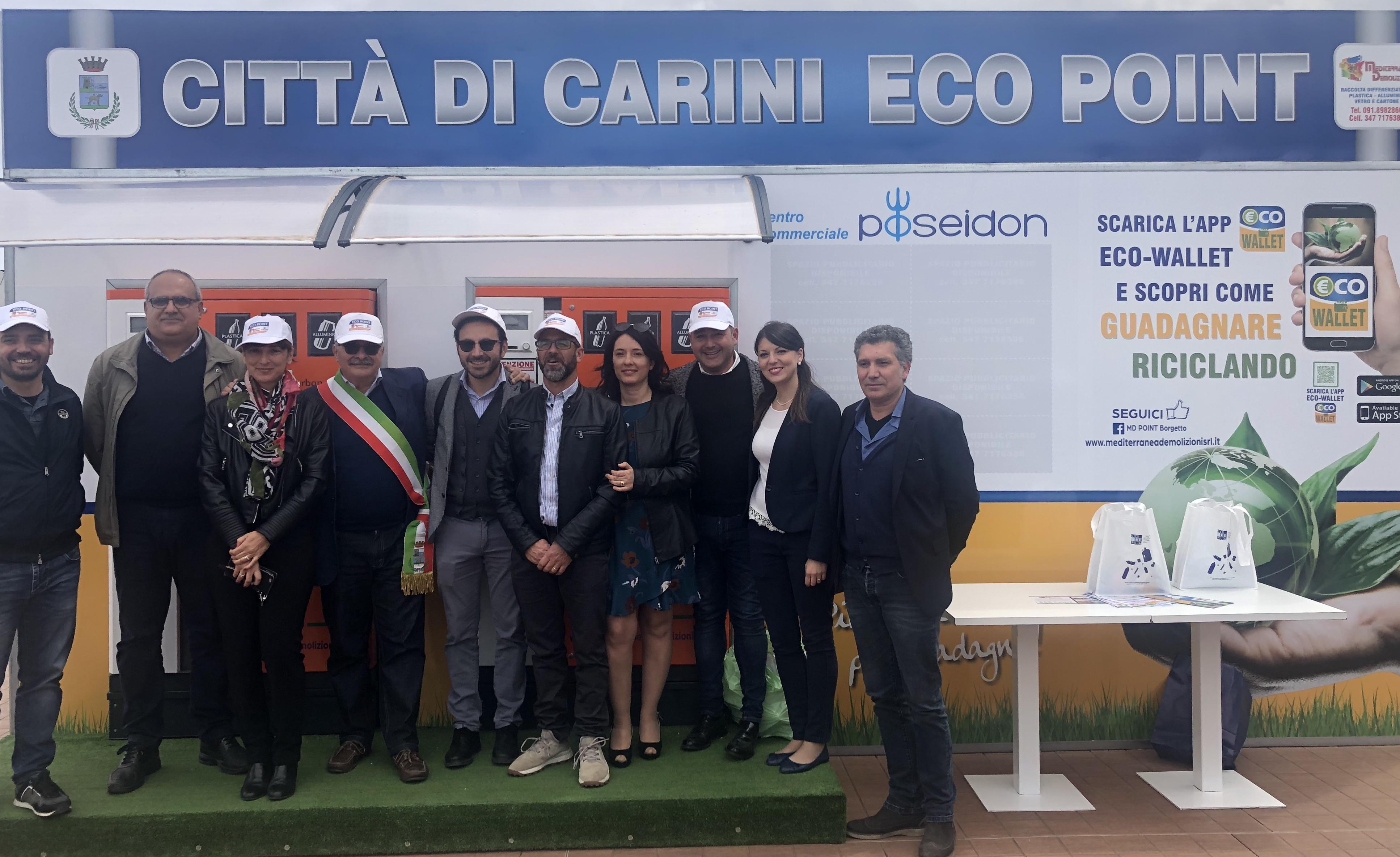 Calendario Raccolta Differenziata Carini 2019.Inaugurato Il Primo Eco Point A Carini Ilcarinese It