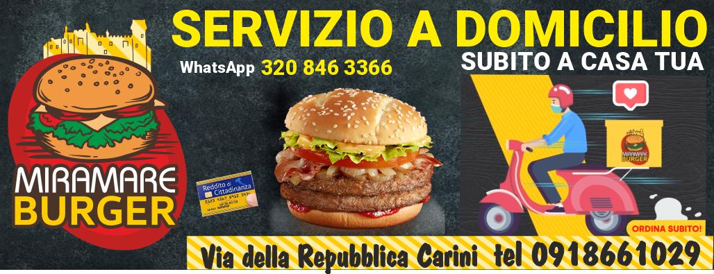 miramare Burger novembre 2020