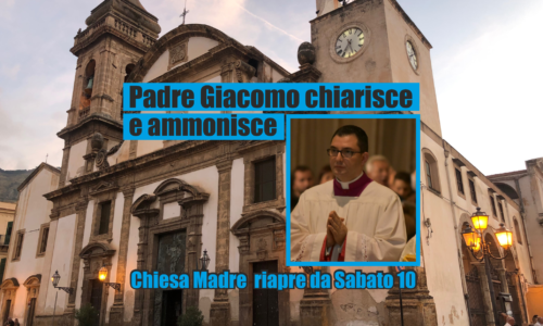 don Giacomo ammonisce